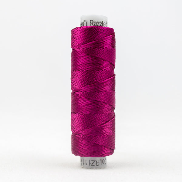 SSRZ1117 - Razzle 8wt Rayon Cerise Thread - wonderfil-online-uk