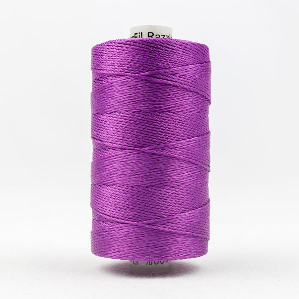 RZ111 - Razzle 6ply Rayon Magenta Thread - wonderfil-online-uk
