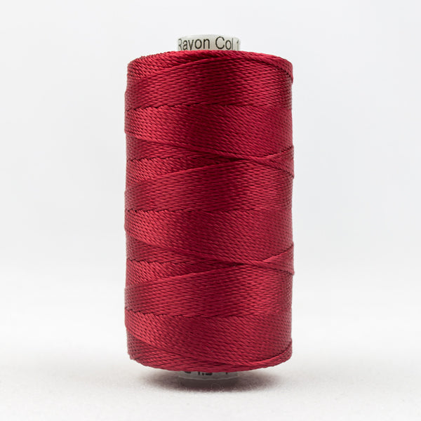 RZ1148 - Razzle 6ply Rayon Dark Red Thread - wonderfil-online-uk