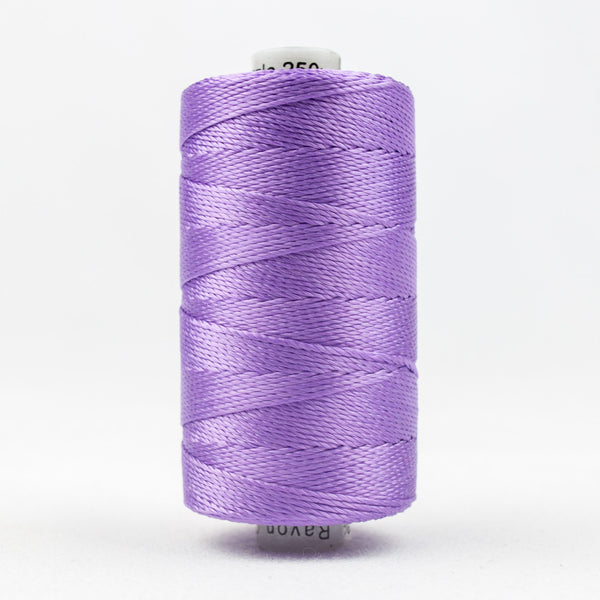 RZ120 - Razzle 6ply Rayon Lavender Thread - wonderfil-online-uk