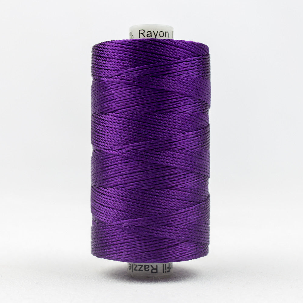 RZ124 - Razzle 6ply Rayon Purple Thread - wonderfil-online-uk