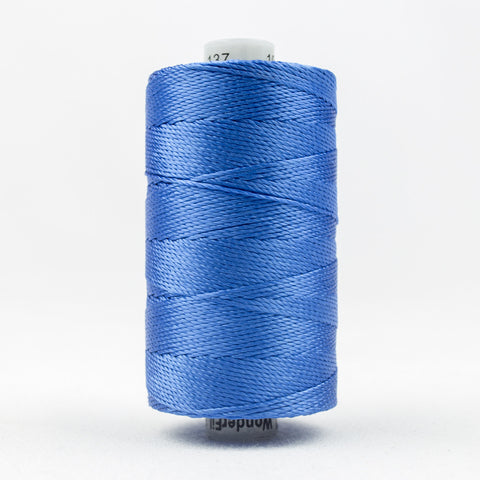 RZ137 - Razzle 6ply Rayon True Blue Thread - wonderfil-online-uk