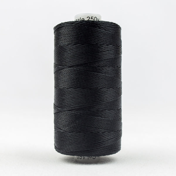 RZ160 - Razzle 6ply Rayon Black Thread - wonderfil-online-uk