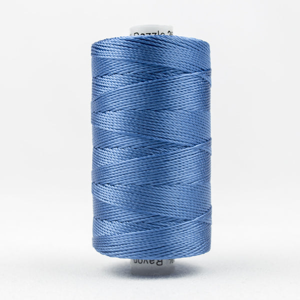 RZ2202 - Razzle 6ply Rayon Baltic Blue Thread - wonderfil-online-uk