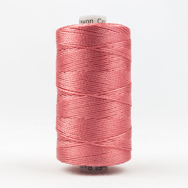 RZ2514 - Razzle 6ply Rayon Coral Rose Thread - wonderfil-online-uk