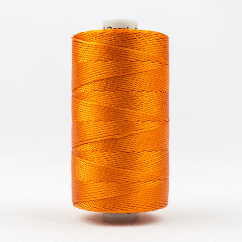 RZ27 - Razzle 6ply Rayon Orange Thread - wonderfil-online-uk