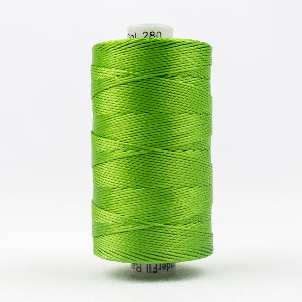 RZ280 - Razzle 6ply Rayon Grass Green Thread - wonderfil-online-uk