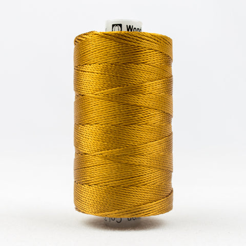 RZ328 - Razzle 6ply Rayon Golden Brown Thread - wonderfil-online-uk