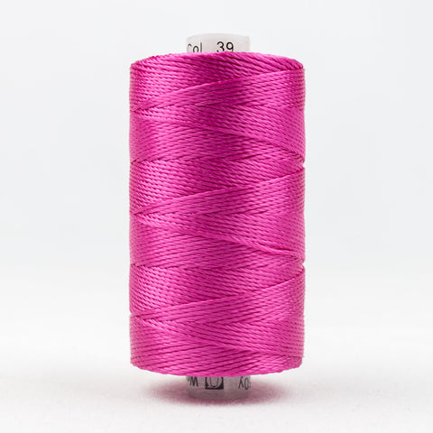 RZ39 - Razzle 6ply Rayon Fuchsia Thread - wonderfil-online-uk