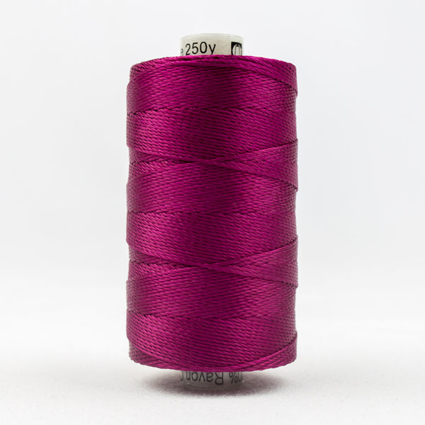 RZ42 - Razzle 6ply Rayon Raspberry Thread - wonderfil-online-uk