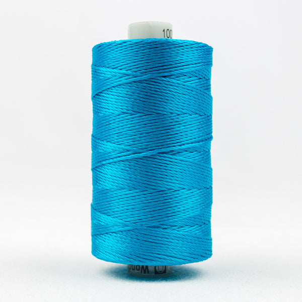 RZ538 - Razzle 6ply Rayon Dark Turquoise Thread - wonderfil-online-uk
