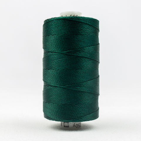 RZ566 - Razzle 6ply Rayon Forest Green Thread - wonderfil-online-uk