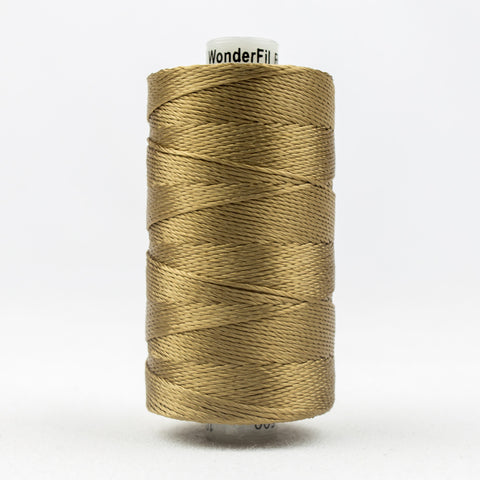 RZ590 - Razzle 6ply Rayon Sandalwood Thread - wonderfil-online-uk