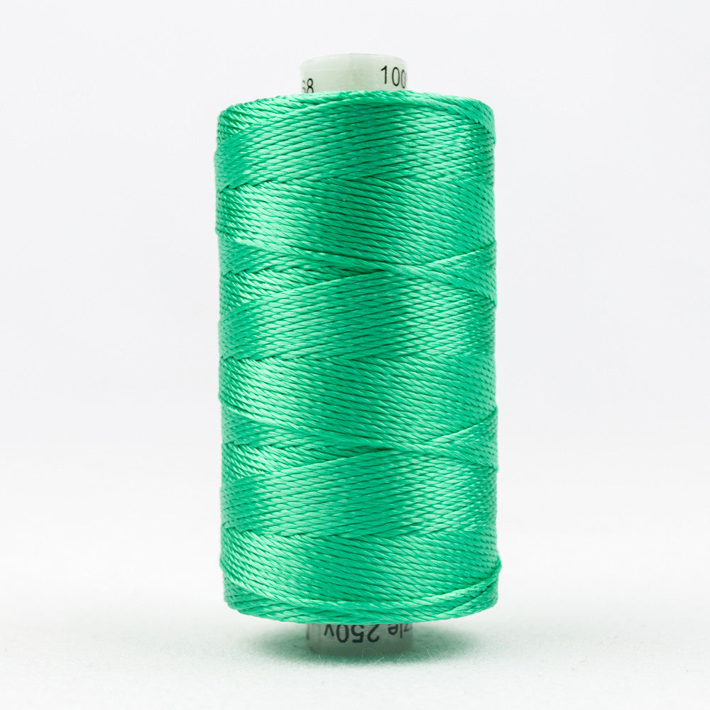 RZ68 - Razzle 6ply Rayon Sea Foam Green Thread - wonderfil-online-uk
