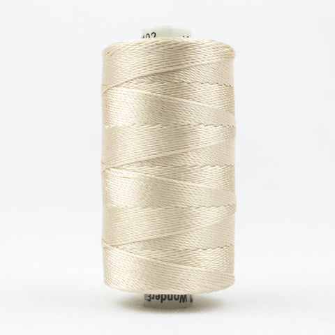 RZ7102 - Razzle 6ply Rayon Ecru Thread - wonderfil-online-uk