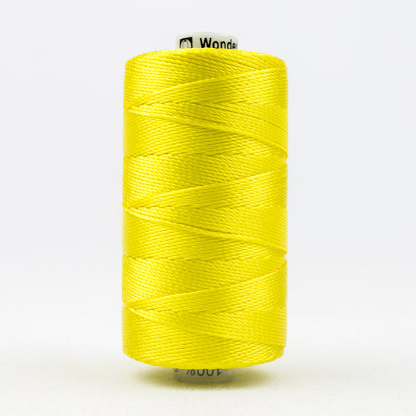 RZ938 - Razzle 6ply Rayon Lemon Yellow Thread - wonderfil-online-uk