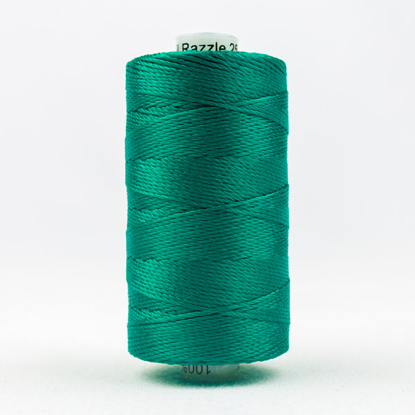 RZ941 - Razzle 6ply Rayon Bluegrass Green Thread - wonderfil-online-uk