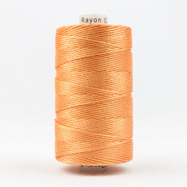 RZ984 - Razzle 6ply Rayon Dark Peach Thread - wonderfil-online-uk