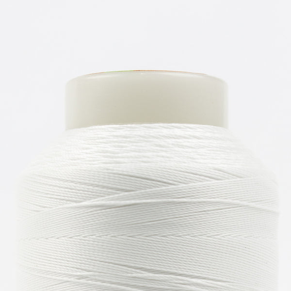 SC01 - 35wt Cotton White Thread - wonderfil-online-uk