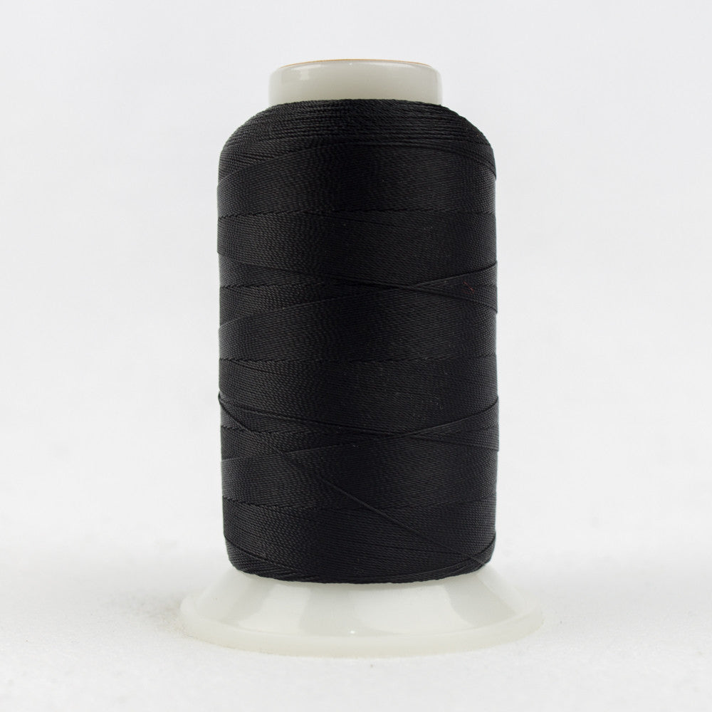 SC02 - 35wt Cotton Black Thread - wonderfil-online-uk
