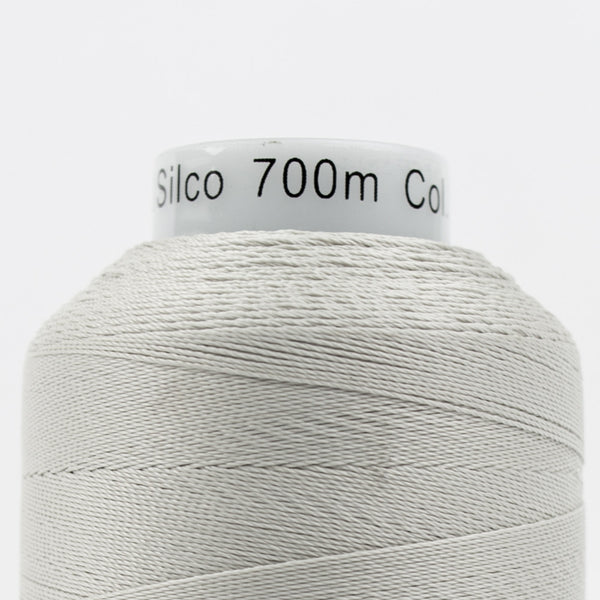 SC04 - 35wt Cotton Light Grey Thread - wonderfil-online-uk