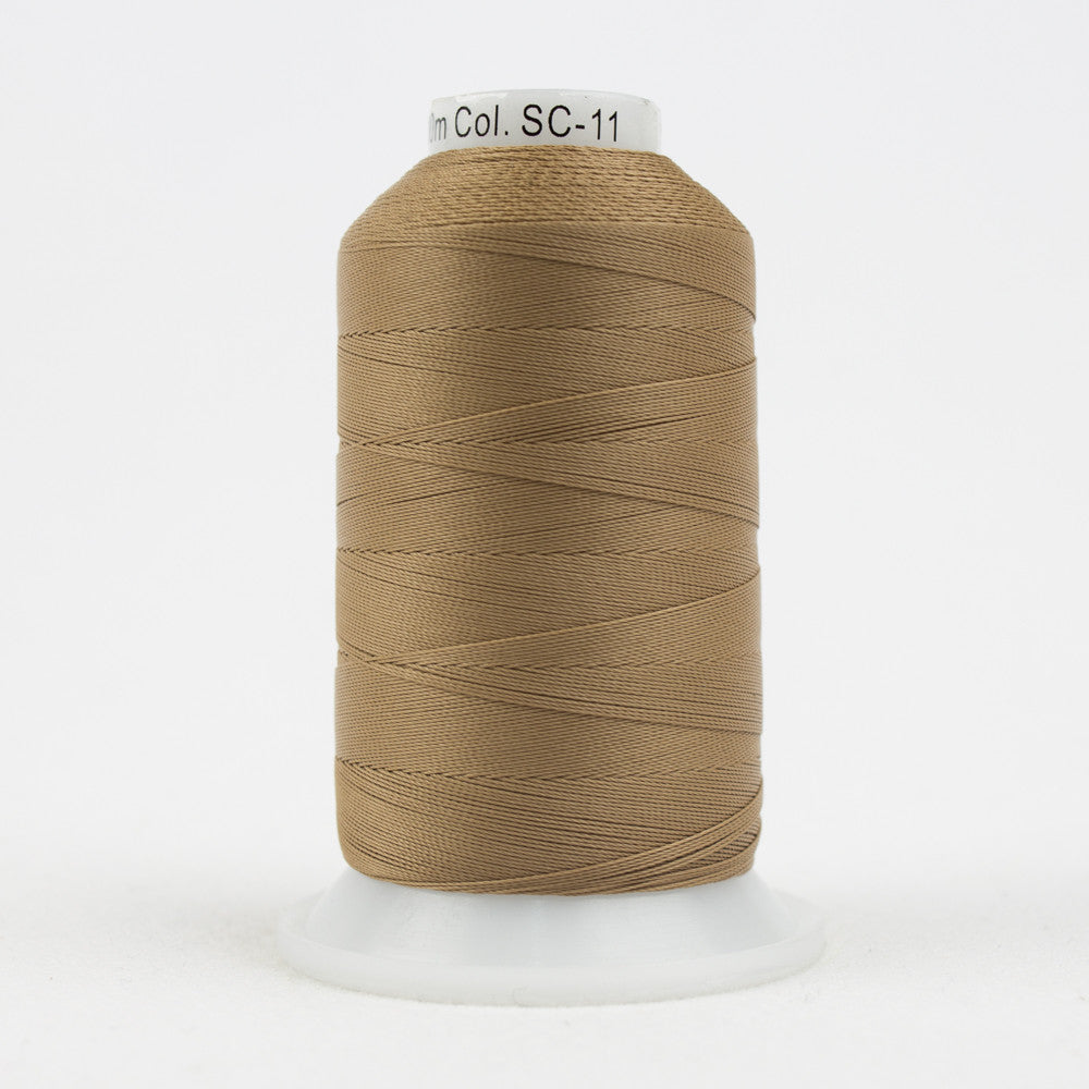 SC11 - 35wt Cotton Greyish Tan Thread - wonderfil-online-uk