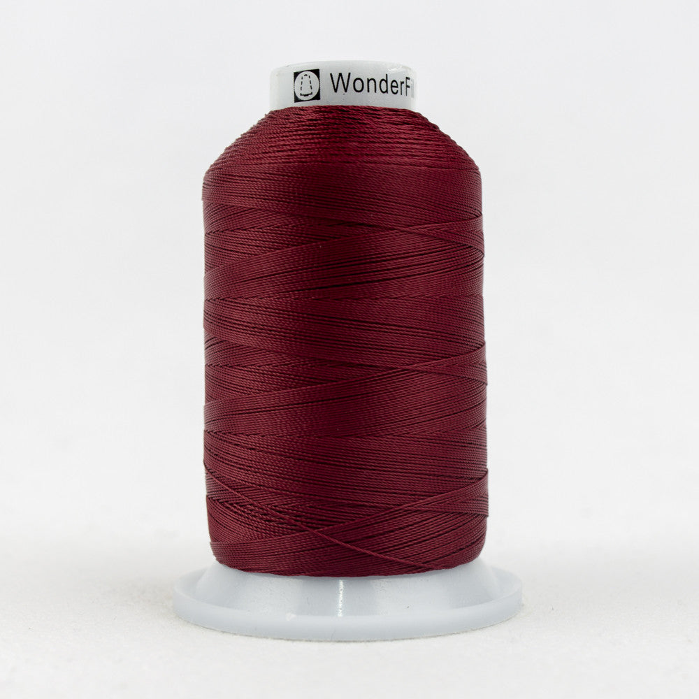 SC28 - 35wt Cotton Burgundy Thread - wonderfil-online-uk