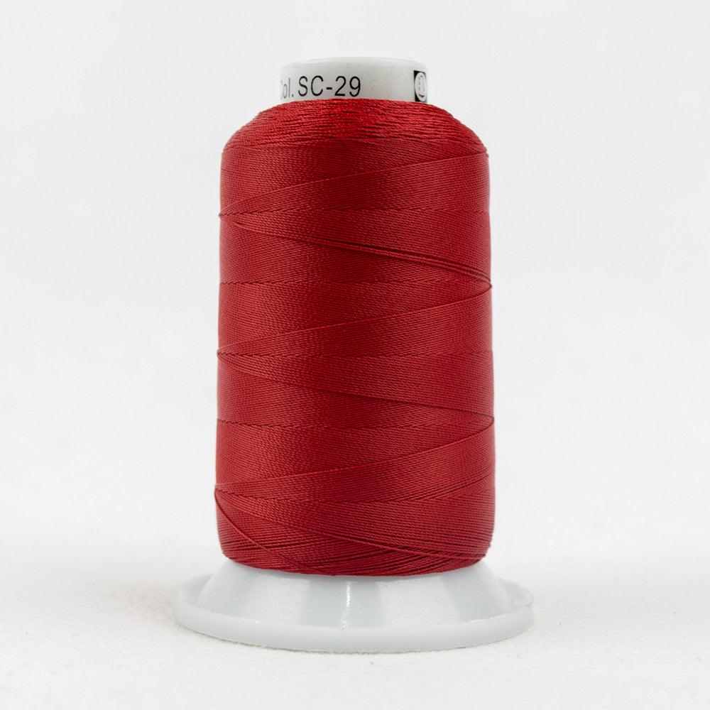 SC29 - 35wt Cotton Holiday Red Thread - wonderfil-online-uk