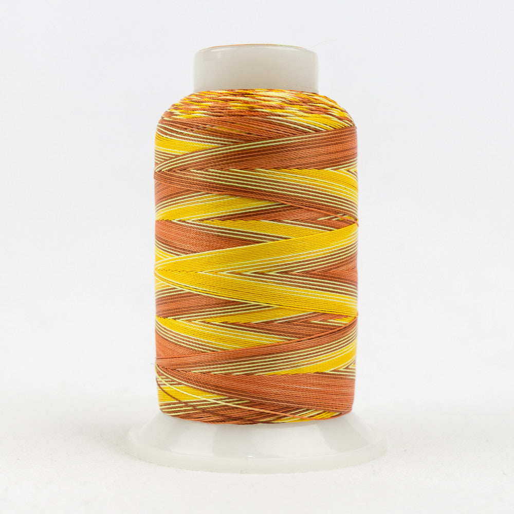 SCM11 - 35wt Cotton Orange Rust Yellow Thread - wonderfil-online-uk