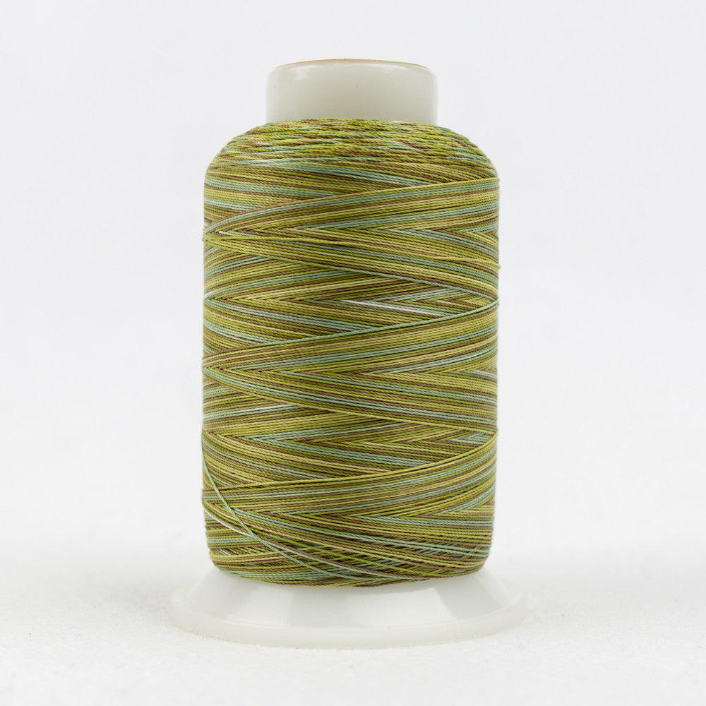 SCM15 - 35wt Cotton Brown Green Thread - wonderfil-online-uk