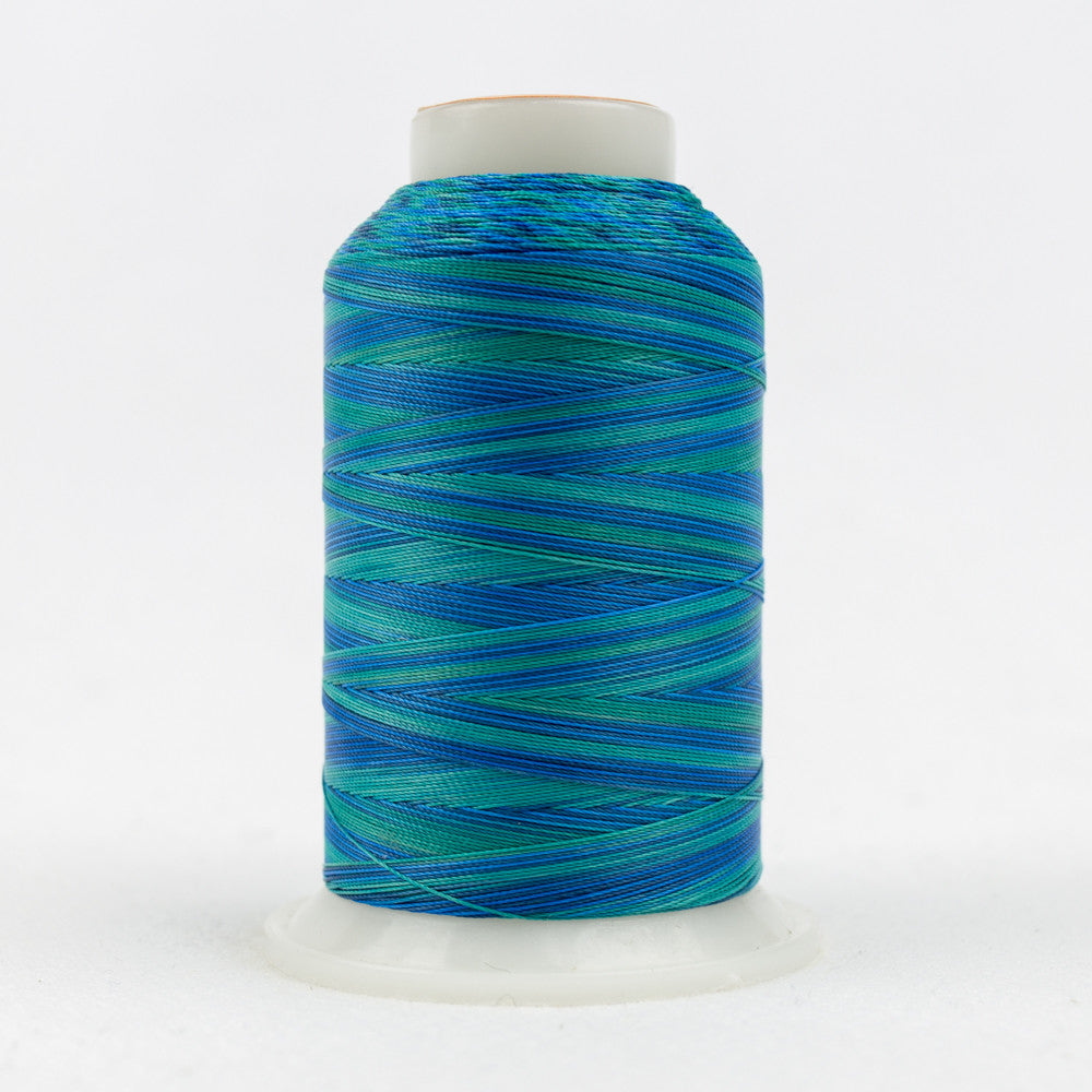 SCM16 - 35wt Cotton Blues Greens Thread - wonderfil-online-uk