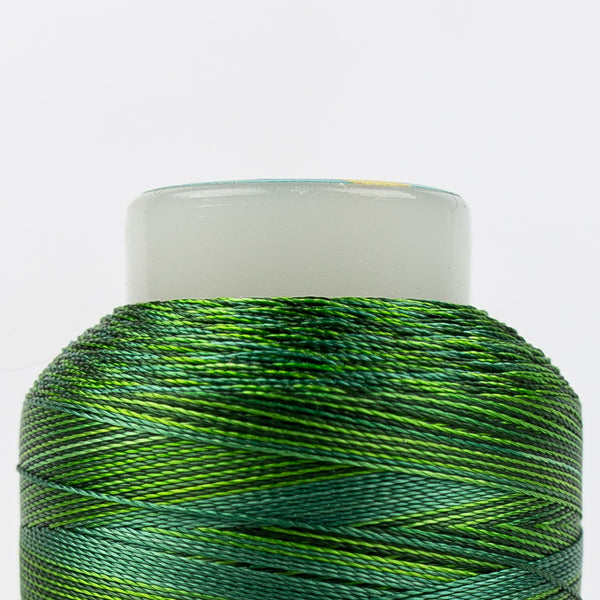 SD03 - Mirage 30wt Rayon  Multi Greens Thread - wonderfil-online-uk