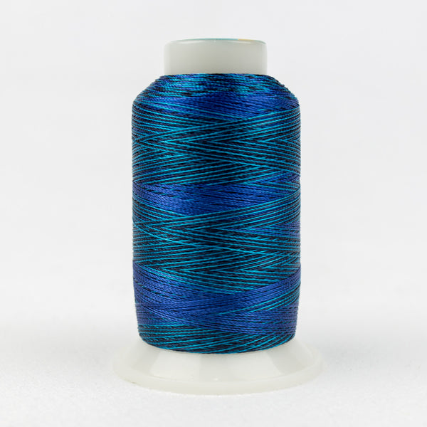 SD04 - Mirage 30wt Rayon  Mediterranean Blues Thread - wonderfil-online-uk