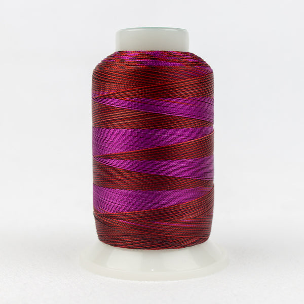 SD09 - Mirage 30wt Rayon Purple Wine Thread - wonderfil-online-uk