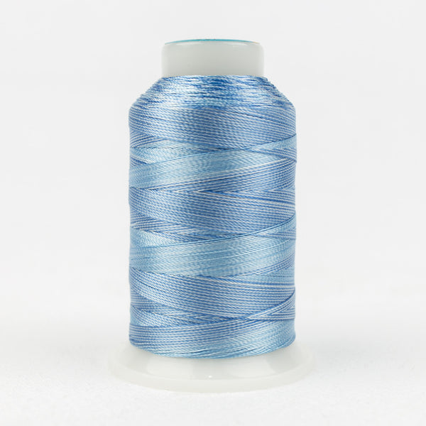 SD15 - Mirage 30wt Rayon Sky Blues Thread - wonderfil-online-uk