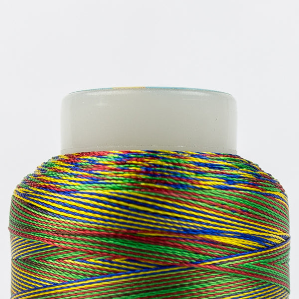 SD24 - Mirage 30wt Rayon Primary Colors Thread - wonderfil-online-uk