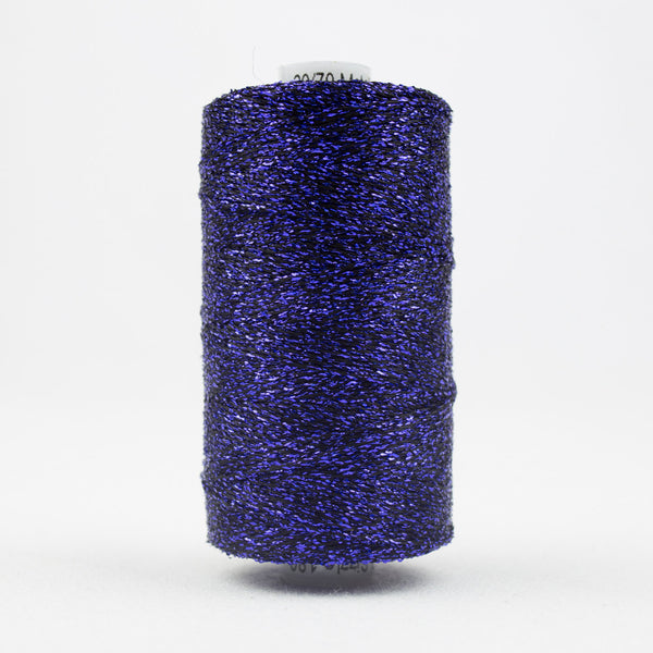 SM25 - Sizzle Rayon and Metallic Dark Purple Thread - wonderfil-online-uk