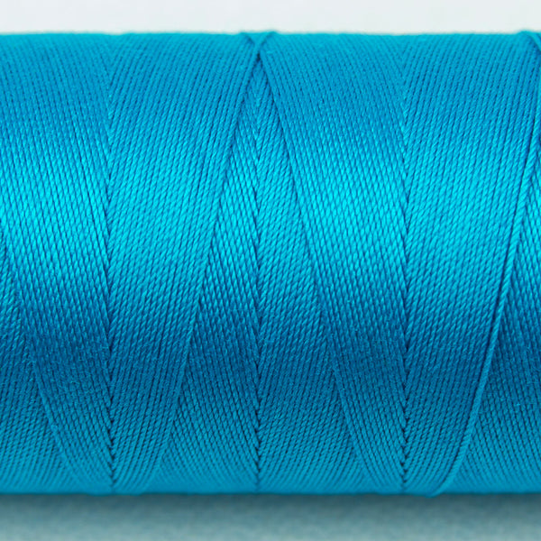 SP05 - Spagetti 12wt Egyptian Cotton Turquoise Thread - wonderfil-online-uk