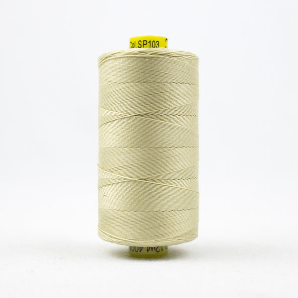 SP103 - Spagetti 12wt Egyptian Cotton Vanilla  Thread - wonderfil-online-uk