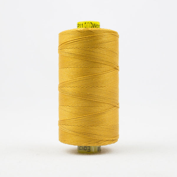 SP11- Spagetti 12wt Egyptian Cotton Rich Gold Thread - wonderfil-online-uk