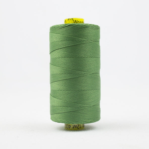 SP12 - Spagetti 12wt Egyptian Cotton Medium Fern Green Thread - wonderfil-online-uk