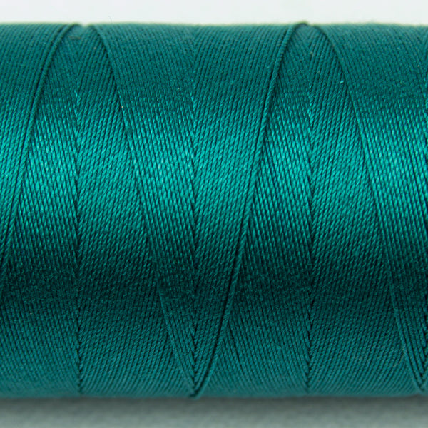 SP13 - Spagetti 12wt Egyptian Cotton Deep Ocean Green Blue Thread - wonderfil-online-uk