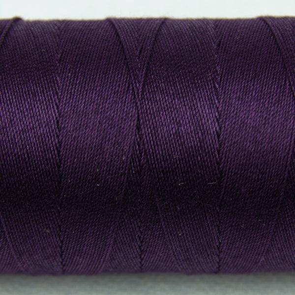 SP15 - Spagetti 12wt Egyptian Cotton Eggplant Thread - wonderfil-online-uk
