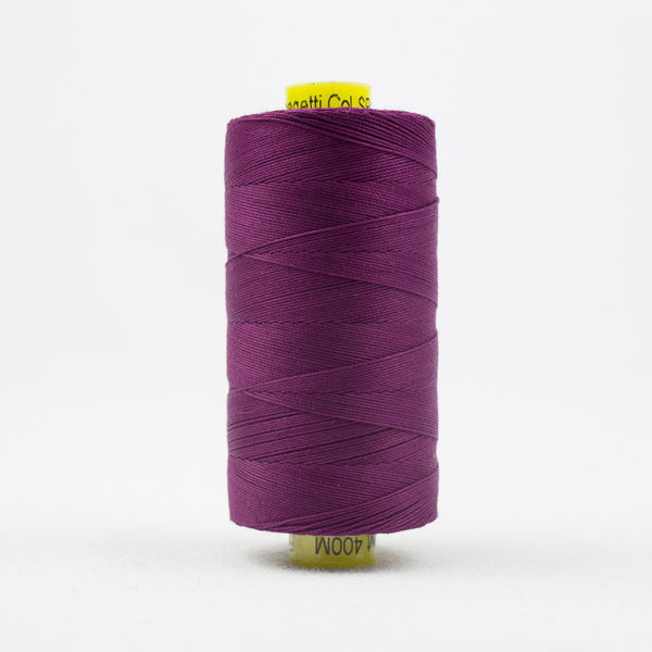 SP16 - Spagetti 12wt Egyptian Cotton Deep Magenta Thread - wonderfil-online-uk