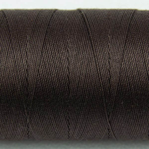 SP17 - Spagetti 12wt Egyptian Cotton Dark Chocolate Thread - wonderfil-online-uk