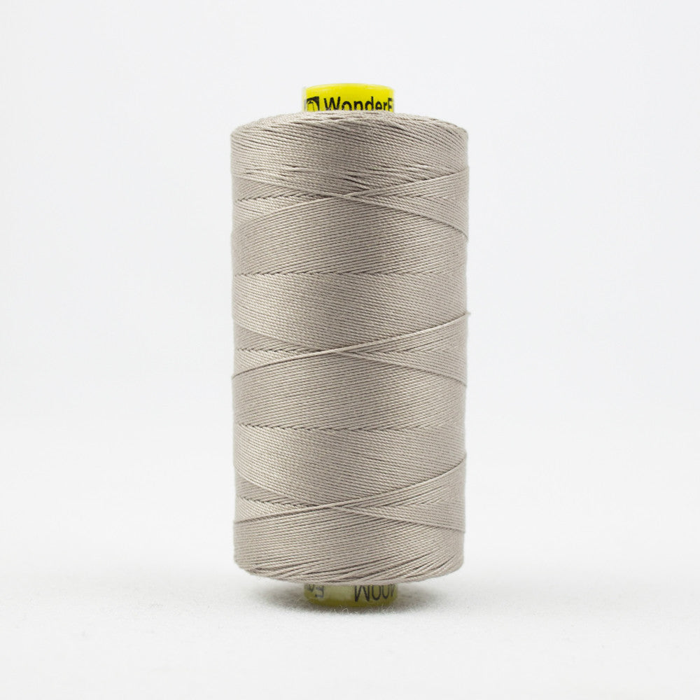 SP18 - Spagetti 12wt Egyptian Cotton Light Taupe Grey Thread - wonderfil-online-uk