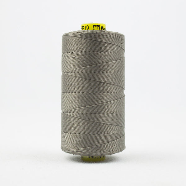 SP19 - Spagetti 12wt Egyptian Cotton Medium Taupe Grey Thread - wonderfil-online-uk
