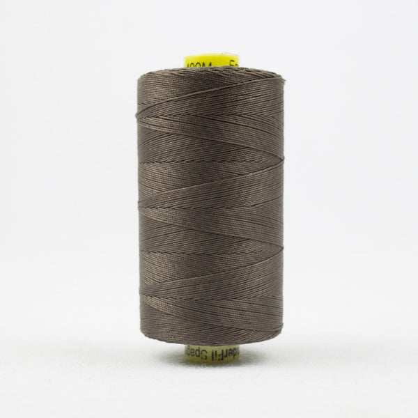 SP20 - Spagetti 12wt Egyptian Cotton Dark Taupe Grey Thread - wonderfil-online-uk