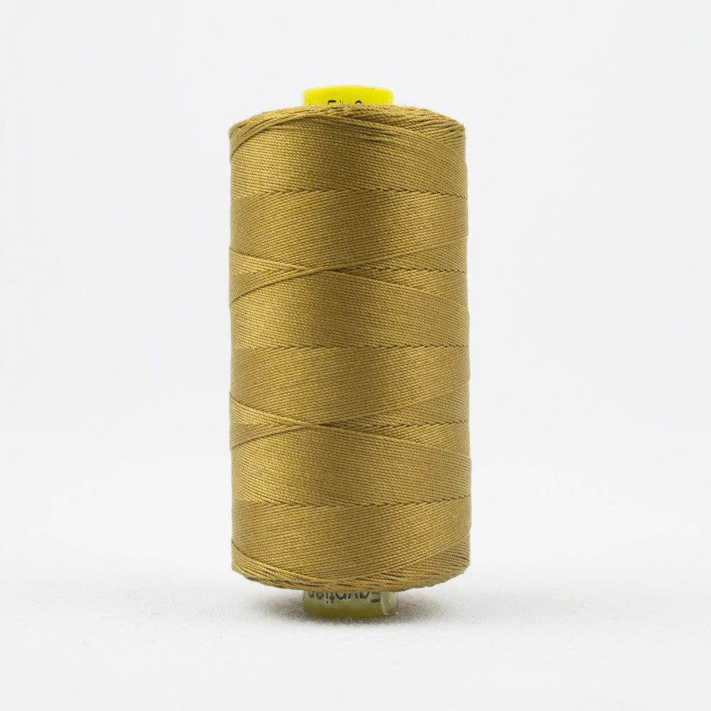 SP21 - Spagetti 12wt Egyptian Cotton Caramel Thread - wonderfil-online-uk