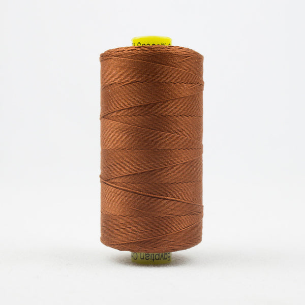 SP23 - Spagetti 12wt Egyptian Cotton Rust Thread - wonderfil-online-uk